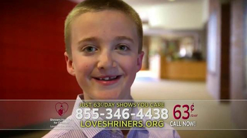 Shriners Hospitals for Children TV Spot, 'Your Call Says You Care' - Thumbnail 4