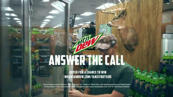 Mountain Dew TV Spot, 'The Wild Is Calling' Featuring Dale Earnhardt, Jr. - Thumbnail 9