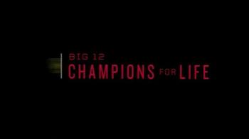 Big 12 Conference TV Spot, 'Texas Tech Justin Stockton' - Thumbnail 8