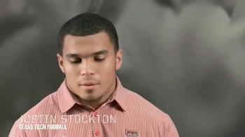 Big 12 Conference TV Spot, 'Texas Tech Justin Stockton' - Thumbnail 3