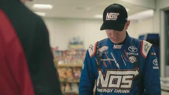 NOS Rowdy TV Spot, 'Cash, Credit, Debit' Featuring Kyle Busch - Thumbnail 3