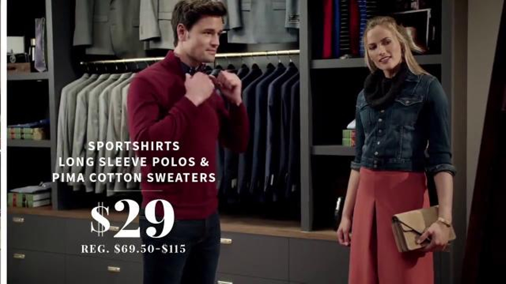 JoS. A. Bank Super Tuesday Sale TV Commercial, 'Suits, Shirts and Sweaters'