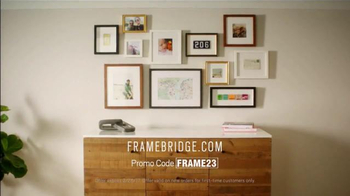 Framebridge TV Spot, 'Tell Your Story'