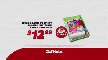 True Value Hardware TV Spot, 'Trolls: Paint' - Thumbnail 4