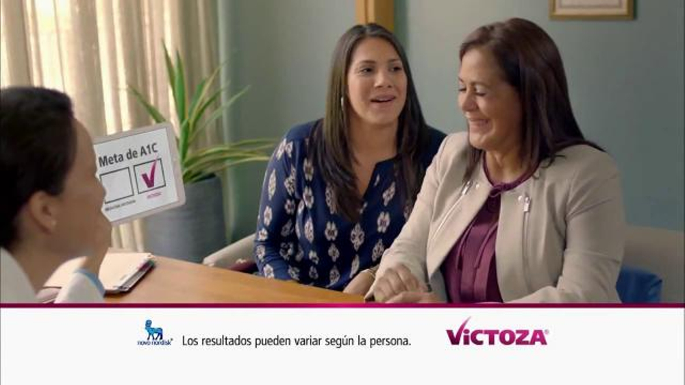 Victoza TV Commercial, 'Meta de A1C'