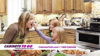Cabinets To Go TV Spot, 'Get Your Dream Kitchen This Holiday Season' - Thumbnail 2