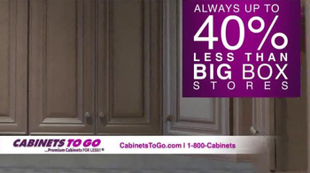 Cabinets To Go TV Spot, 'Get Your Dream Kitchen This Holiday Season' - Thumbnail 4