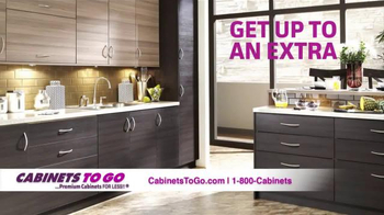 Cabinets To Go TV Spot, 'Get Your Dream Kitchen This Holiday Season' - Thumbnail 5