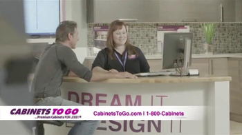 Cabinets To Go TV Spot, 'Get Your Dream Kitchen This Holiday Season'