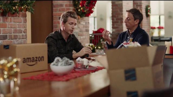 Amazon Prime TV Spot, 'Advent Calendar' Featuring Seth Meyers, Josh Meyers - Thumbnail 1