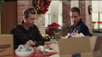 Amazon Prime TV Spot, 'Advent Calendar' Featuring Seth Meyers, Josh Meyers - Thumbnail 5