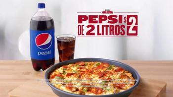 Papa John's Pan Pizza TV Spot, 'Tres Toppings' [Spanish] - Thumbnail 5