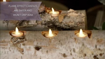 Luminara TV Spot, 'HGTV: Holiday Centerpiece' Featuring Genevieve Gorder - Thumbnail 4