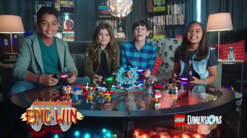 LEGO Dimensions TV Spot, \'Nickelodeon: Epic Win Showdown\'