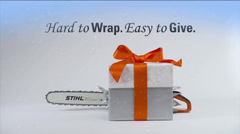 STIHL TV Spot, 'Holidays: Hard to Wrap, Easy to Give'