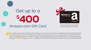 Frontier FiOS Triple Play TV Spot, 'Holidays: Best Offer Ever' - Thumbnail 5