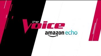 Amazon Echo TV Spot, 'NBC: The Voice' - Thumbnail 6