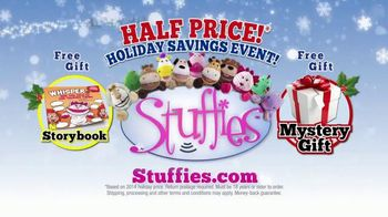 Stuffies Holiday Savings Event TV Spot, 'How Much Stuff Can You Stuff?'