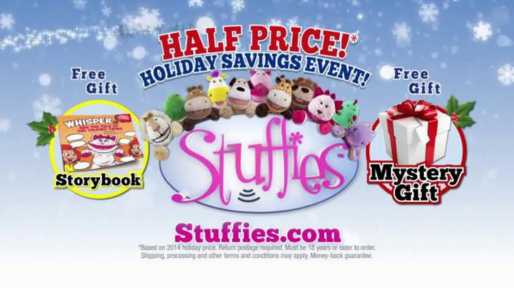 Stuffies Holiday Savings Event Tv Commercial How Much Stuff Can