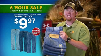 Bass Pro Shops 6 Hour Sale TV Spot, 'Jeans and Smoker' - Thumbnail 4