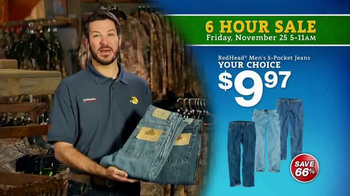 Bass Pro Shops 6 Hour Sale TV Spot, 'Jeans and Duck Jacket' - Thumbnail 3