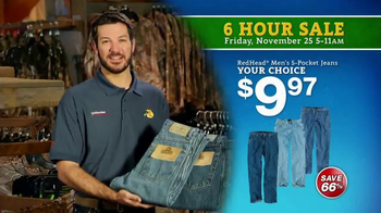 Bass Pro Shops 6 Hour Sale TV Spot, 'Jeans and Duck Jacket' - Thumbnail 4