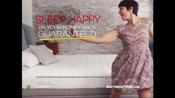 Mattress Firm TV Spot, 'Sleep Happy' - Thumbnail 1