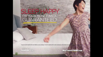 Mattress Firm TV Spot, 'Sleep Happy' - Thumbnail 2