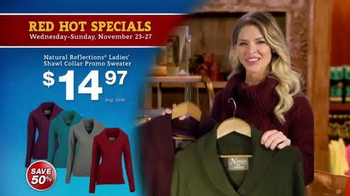 Bass Pro Shops 5 Day Sale TV Spot, \'Sweaters, Thermals & Kayaks\'