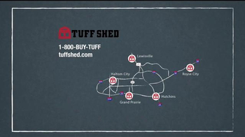 Tuff Shed Thanksgiving Sale TV Spot, 'Busy Winter' - Thumbnail 10