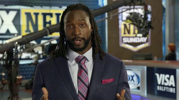 VISA TV Spot, 'FOX: Preparing for Kick-Off' Ft. Charles Tillman, Jay Glazer