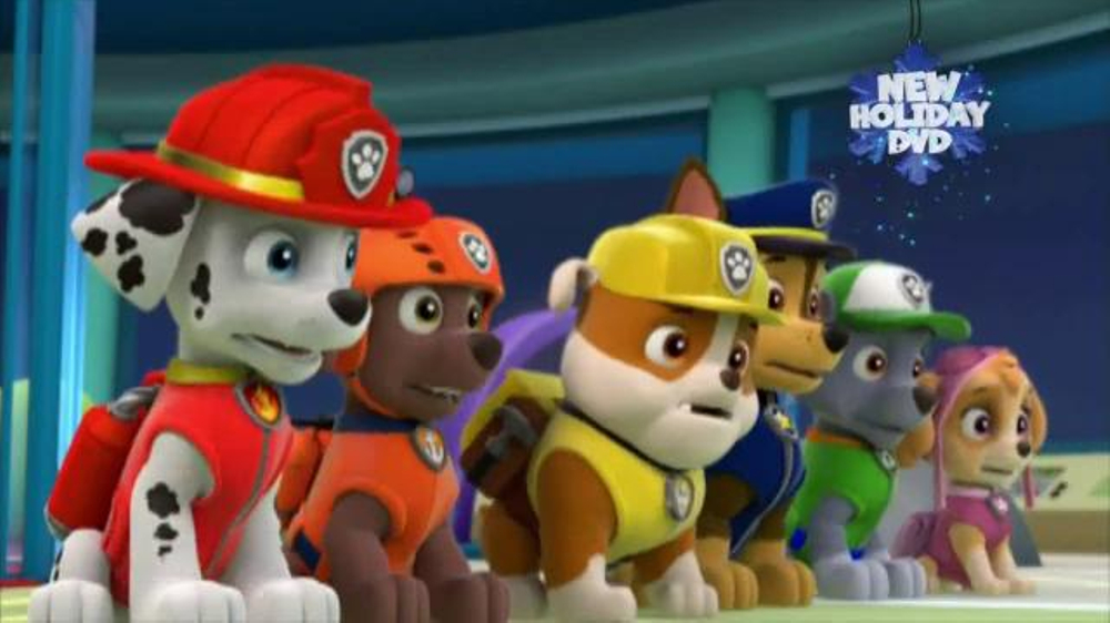 Save Christmas.Paw Patrol Pups Save Christmas Dvd Tv Commercial Video