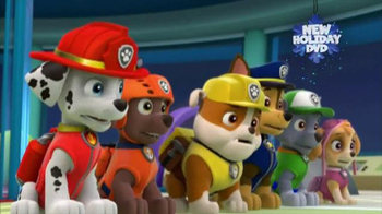 PAW Patrol Pups Save Christmas DVD TV Spot