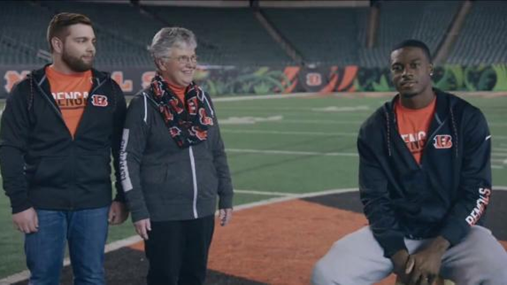 NFL Shop TV Commercial, 'Pittsburgh in December' Featuring A.J. Green