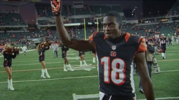 NFL Shop TV Spot, 'Pittsburgh in December' Featuring A.J. Green - Thumbnail 1
