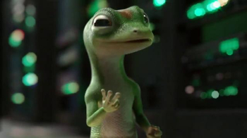 GEICO App TV Spot, 'Server Farm: Gecko Journey' - 7818 commercial airings