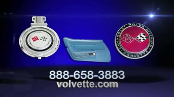 Volunteer Vette Products TV Spot, 'High Quality Parts' - Thumbnail 2