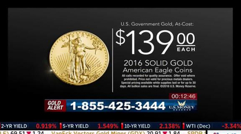 U.S. Money Reserve Gold Summit TV Spot, 'Benefits of Gold' Feat. Larry King - Thumbnail 10