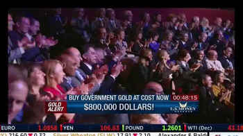 U.S. Money Reserve Gold Summit TV Spot, 'Benefits of Gold' Feat. Larry King - Thumbnail 7
