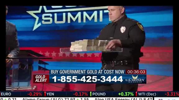 U.S. Money Reserve Gold Summit TV Spot, 'Benefits of Gold' Feat. Larry King - Thumbnail 8