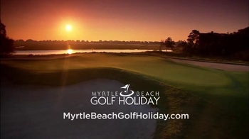 Myrtle Beach Golf Holiday TV Spot, 'Get the Gang Together' - Thumbnail 10
