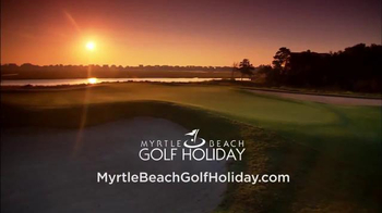 Myrtle Beach Golf Holiday TV Spot, 'Get the Gang Together' - Thumbnail 9