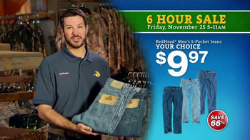 Bass Pro Shops 6 Hour Sale TV Spot, 'Jeans, Flannel and Smokers' - Thumbnail 3