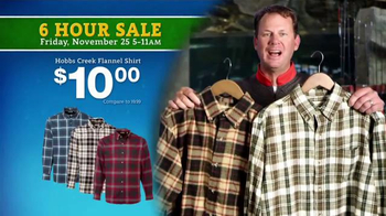 Bass Pro Shops 6 Hour Sale TV Spot, 'Jeans, Flannel and Smokers' - Thumbnail 4