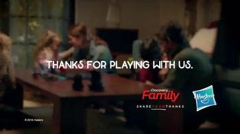 Hasbro TV Spot, 'Discovery Family: Thanks Mom & Dad' - Thumbnail 9