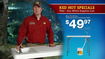Bass Pro Shops 5 Day Sale TV Spot, 'Shirts, Crews, Table and Spinning Reel' - Thumbnail 7