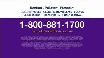 Kirkendall Dwyer LLP TV Spot, 'Heartburn Drug Injuries' - Thumbnail 5