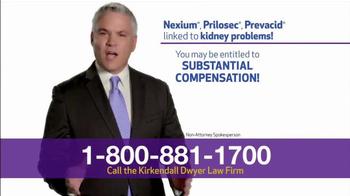Kirkendall Dwyer LLP TV Spot, 'Heartburn Drug Injuries' - Thumbnail 3