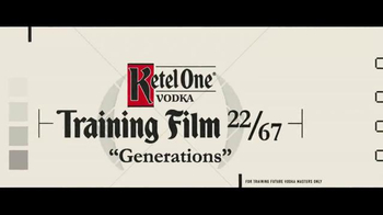 Ketel One TV Spot, 'It Has to Be Perfect: Generations' - Thumbnail 1