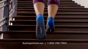 Copper Fit Gripper Socks TV Spot, 'Change Your Workout' Feat. Ashley Judd - Thumbnail 7